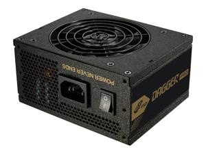 FSP Dagger Pro 650W Mini ITX Solution / SFX 12V / Micro ATX 80 Plus Gold Certified Full Modular VR / 4K Ready Gaming Power Supply (SDA2-650)