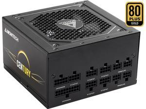 Montech Century 650 Watt 80 Plus Gold Certified Fully Modular Power Supply, Compact ATX Size, FDB Premium Fan, 100% Japanese Capacitors, High-Performance, High Quality Components
