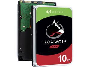 "Seagate IronWolf 10TB NAS Hard Drive 7200 RPM 256MB Cache SATA 6.0Gb/s CMR 3.5"" Internal HDD for RAID Network Attached Storage ST10000VN0008"