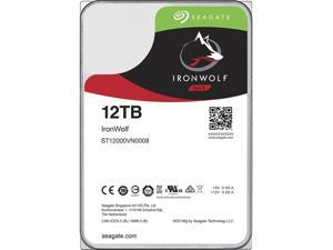 "Seagate IronWolf 12TB NAS Hard Drive 7200 RPM 256MB Cache SATA 6.0Gb/s CMR 3.5"" Internal HDD for RAID Network Attached Storage ST12000VN0008"