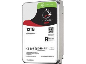 "Seagate IronWolf Pro 12TB NAS Hard Drive 7200 RPM 256MB Cache CMR SATA 6.0Gb/s 3.5"" Internal HDD ST12000NE0008"