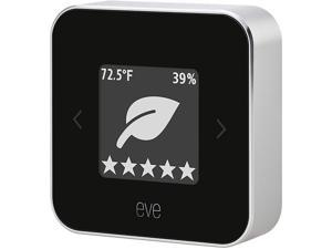 Eve Wireless Indoor Air Quality Monitor, Black