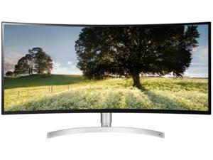 "LG 34WK95C-W 34"" Quad HD 3440 x 1440 2K 5ms (GTG) DisplayPort 2xHDMI USB Type-C USB 3.0 Hub Flicker Safe AMD Radeon FreeSync Anti-Glare UltraWide Backlit LED NANO IPS Curved Monitor"