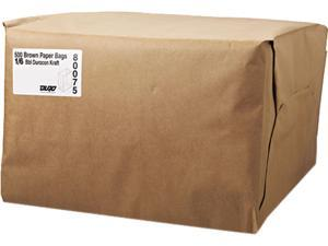 General 1/6 52# Paper Bag, 52-Pound Base Weight, Brown Kraft, 12 X 7 X