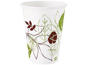 Dixie 12FPPATH Pathways Polycoated Paper Cold Cups
