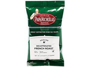 Papanicholas Coffee Premium Coffee Decaffeinated French Roast 18/Carton 25186