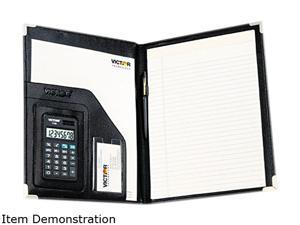 "VICTOR 1135 11 x 8-1/2"" Portfolio Pad With Calculator"