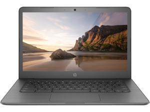 """HP 14 Chromebook, 14"""" HD Touch Display, Intel Celeron N3350 up to 2.4GHz, 4GB RAM, 32GB eMMC, Card Reader, Wi-Fi, Bluetooth, Chrome OS (3JQ73UA)"""