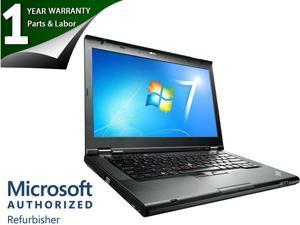 """Lenovo Thinkpad T430 - i5-3320M 2.6GHz - 4GB Memory - 320GB HD - 14"""" HD - Windows 7 Pro 64 - DVD-RW - 1 YEAR WARRANTY"""