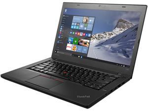 "ThinkPad French Laptop T Series T460 (20FN002SCA) Intel Core i5 6200U (2.30 GHz) 4 GB Memory 500 GB HDD Intel HD Graphics 520 14.0""  Windows 7 Professional 64-Bit / Windows 10 Pro Downgrade"