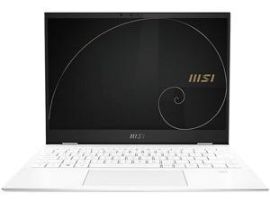 "MSI Summit E13 Flip Evo A11MT-020 13.4"" Touchscreen 2 in 1 Notebook - Full HD Plus - 1920 x 1200 - Intel Core i7 (11th Gen) i7-1185G7 1.20 GHz - 32 GB RAM - 1 TB SSD - Pure White"
