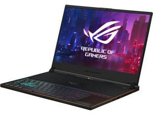"""ASUS ROG Zephyrus S Ultra Slim Gaming PC Laptop, 15.6"""" 144 Hz IPS Type, Intel Core i7-8750H CPU, GeForce GTX 1070, 16 GB DDR4, 512 GB PCIe SSD, Military-Grade Metal Chassis, Win 10 Home - GX531GS-AH76"""