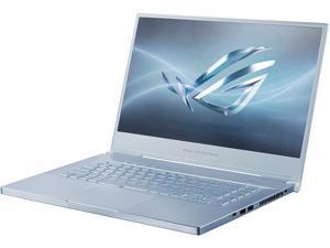 """ROG Zephyrus M GU502GU-XH74-BL Gaming Laptop - 15.6"""" 240 Hz FHD IPS, GeForce GTX 1660 Ti, Intel Core i7-9750H, 16 GB DDR4, 512 GB SSD, Per-Key RGB, Windows 10 Pro, Glacier Blue"""