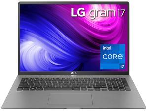 "LG Gram Ultra-Slim Laptop 17Z95N-G.AAS8U1 Intel Core i7 11th Gen 1165G7 (2.80 GHz) 16 GB Memory 1 TB NVMe SSD Intel Iris Xe Graphics 17"" IPS 2560 x 1600 Windows 10 Home 64-bit"