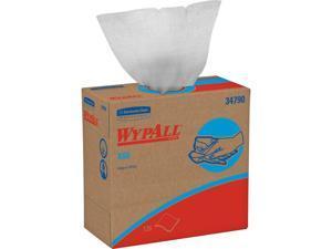 Wypall X60 Reusable Cloths (34790) in Convenient Pop-Up Box, White, 10 Boxes / Case, 126 Sheets / Box
