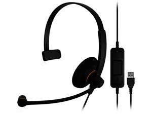 EPOS Sennheiser SC 30 USB ML Monaural On-Ear USB Wired Headset with Microphone