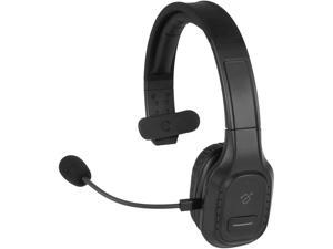 Aluratek Bluetooth Wireless Headset with Noise Cancelling Boom Microphone ABHM100F