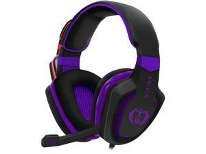 Anivia AH28 3.5mm Wired Gaming Headset with Microphone,Noise Isolating Volume Control for Pc/Mac/Ps4/Phone