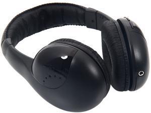 New 5 in 1 Wireless Headphone Black for MP3/MP4 PC TV CD FM Radio