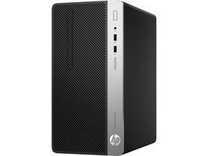 HP Business Desktop ProDesk 400 G5 Desktop Computer 4CE00UT#ABA - Core i5 i5-8500 - 4 GB RAM - 500 GB HDD - Micro Tower - Windows 10 Pro 64-bit - Intel UHD Graphics 630 - DVD-Writer - English Keyboard