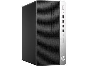 HP EliteDesk 705 G4 Desktop, AMD A10-9700 Upto 3.8GHz, 8GB RAM, 256GB NVMe SSD, DVDRW, DisplayPort, Wi-Fi, Bluetooth, Windows 10 Pro