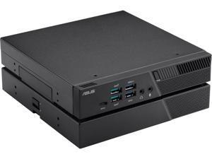 ASUS PB60G Mini PC, Intel Core i3-8100T 3.1GHz, 8GB RAM, 256GB NVMe SSD, NVIDIA Quadro P620, HDMI, DisplayPort, Mini DisplayPort, Wi-Fi, Bluetooth, Windows 10 Pro (PB60G-B3013ZD)