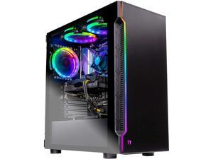 Skytech Shadow Gaming Computer PC Desktop - Intel Core i5 9400F 2.90 GHz, GTX 1660 6 GB, 500 GB SSD, 8 GB DDR4 3000 MHz, RGB Fans, Windows 10 Home 64-bit, 802.11ac Wi-Fi