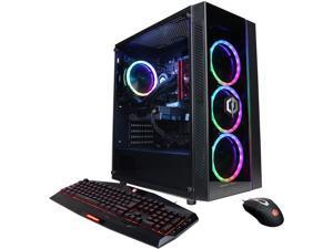 CyberpowerPC Gaming Desktop Gamer Xtreme Liquid Cool GLC2520V2 Intel Core i7 10th Gen 10700K (3.80 GHz) 16 GB DDR4 1 TB HDD 500 GB PCIe SSD NVIDIA GeForce GTX 1650 SUPER Windows 10 Home 64-bit