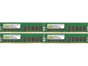 NEMIX RAM 128GB 4x32GB DDR4-3200 PC4-25600 2Rx8 ECC Unbuffered Memory
