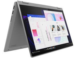 "Lenovo IdeaPad Flex 5 14IIL05 81X1000AUS Intel Core i5 10th Gen 1035G1 (1.00 GHz) 8 GB Memory 512 GB PCIe SSD Intel UHD Graphics 14"" Touchscreen 1920 x 1080 Convertible 2-in-1 Laptop Windows 10 Home"