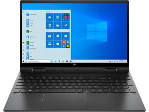 "Newest HP Envy X360 2-in-1 15.6"" Micro-edge FHD IPS Multitouch Screen Laptop, AMD Ryzen 7 4700U, 16GB DDR4, 512GB M.2 SSD, Backlit Keyboard, Fingerprint, Wi-Fi-6, Windows 10, Nightfall Black"