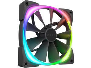 NZXT AER RGB 2 - 140mm - RGB LED - Fluid Dynamic Bearing - PWM Fan for Hue 2 - Single