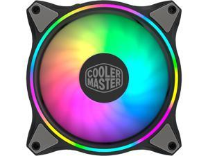 Cooler Master MasterFan MF120 HALO Addressable RGB 120mm Fan with Duo-Ring ARGB LED Lighting
