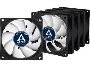 Arctic F8 PWM PST Value pack Standard Low Noise PWM Controlled Case Fan with PST Feature Cooling, 5 Pack
