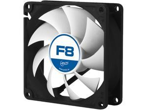 Arctic F8 - Value pack 80mm Standard Low Noise Case Fan Cooling, 5 Pack
