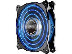 Lepa Chopper Advance 120mm High Performance LED PC Case Fan - Blue