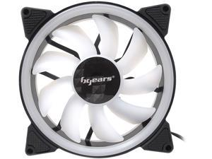 BGears b-DualRing 120mm 30 White LEDs fan with 101 CFM at 2000 RPM