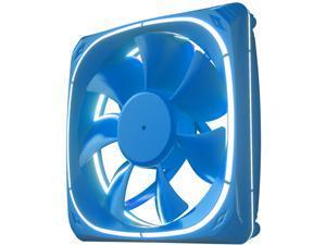 Vetroo DF120 120mm Case Fan White LED Lighting PC Cooling Fan w/ Blue Fan Frame for Radiator / CPU Cooler / Computer Case