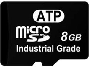 ATP AF8GUD3-WAAXX Commercial Grade Micro Sd, 8 Gb, Nc/Nr