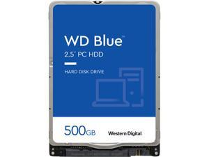 "Western Digital 500GB WD Blue Mobile Hard Drive - 5400 RPM Class, SATA 6Gb/s, 16MB Cache, 2.5"" - WD5000LPCX"