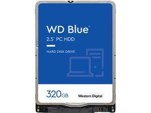 WD Blue 320GB Internal Hard Disk Drive - 5400 RPM Class SATA 6Gb/s 16MB Cache 2.5 Inch - WD3200LPCX