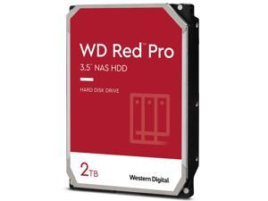 "WD Red Pro NAS Hard Drive WD2002FFSX - Internal Hard Drive - 2 TB - 3.5"" - SATA 6Gb/s - 7200 rpm - Buffer: 64 MB"