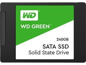 """WD Green 240GB Internal PC SSD - SATA III 6 Gb/s, 2.5""""/7mm - WDS240G2G0A"""