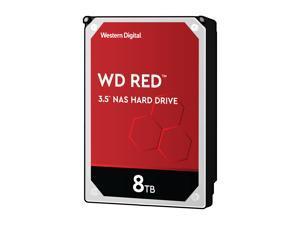 """WD Red 8TB NAS Internal Hard Drive - 5400 RPM Class, SATA 6Gb/s, CMR, 256MB Cache, 3.5"""" - WD80EFAX"""