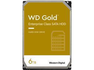 WD Gold 6TB Enterprise Class Hard Disk Drive - 7200 RPM Class SATA 6Gb/s 256MB Cache 3.5 Inch - WD6003FRYZ