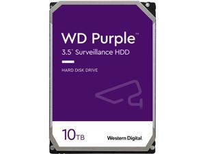 "WD Purple WD102PURZ 10TB 7200 RPM 256MB Cache SATA 6.0Gb/s 3.5"" Hard Drives                                                  Bare Drive"