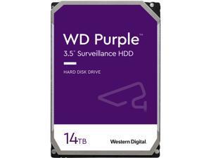 """WD Purple 14TB 3.5"""" SATA 7200rpm Internal Hard Drive WD140PURZ"""