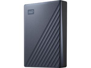 WD 5TB Blue My Passport Ultra Portable Storage External Hard Drive USB-C for PC/Windows (WDBFTM0050BBL-WESN)