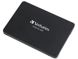 "Verbatim Vi550 256GB Solid State Drive - SATA (SATA/600) - 2.5"" Drive - 150TB (TBW) - Internal"