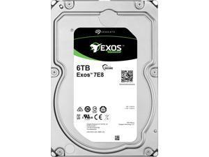 Seagate ST6000NM0115 6TB 7200 RPM SATA 6GB/s 512e Exos 7E8 256MB Cache 3.5-inch Hard Drive